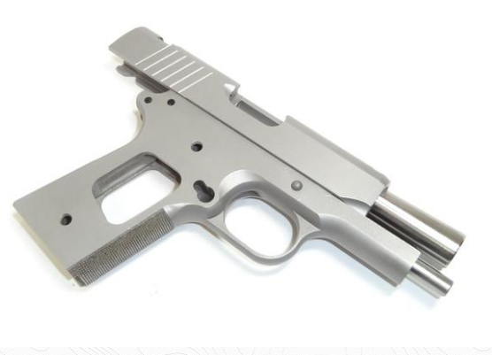 "Classic 1911 80% KIT 3.5"" 416 STAINLESS 45ACP/9MM"
