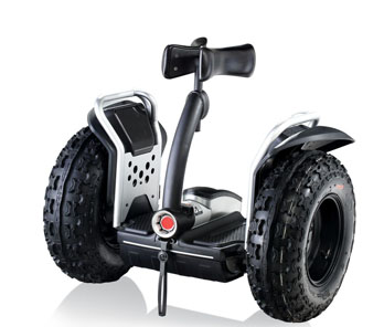 Hands free electic 2 wheel scooter
