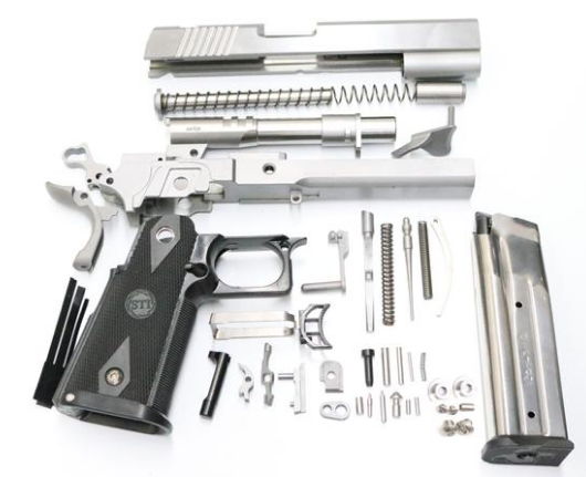 Kit contains all parts needed to finish your full size 80% duble stack MMXI
