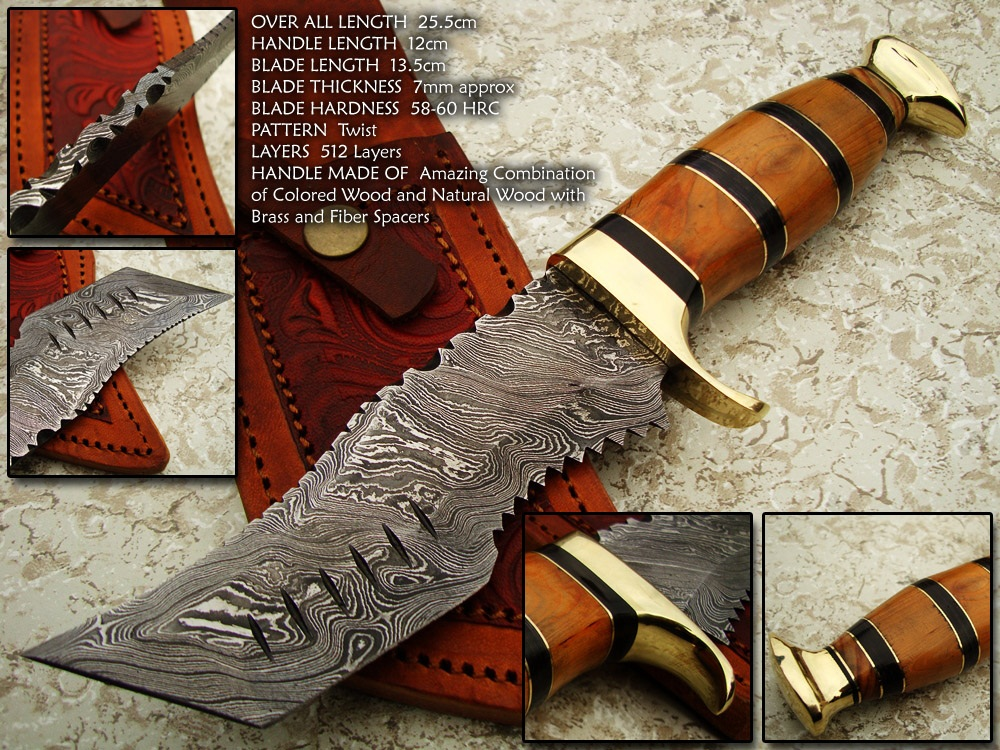 Damascus steel sorde